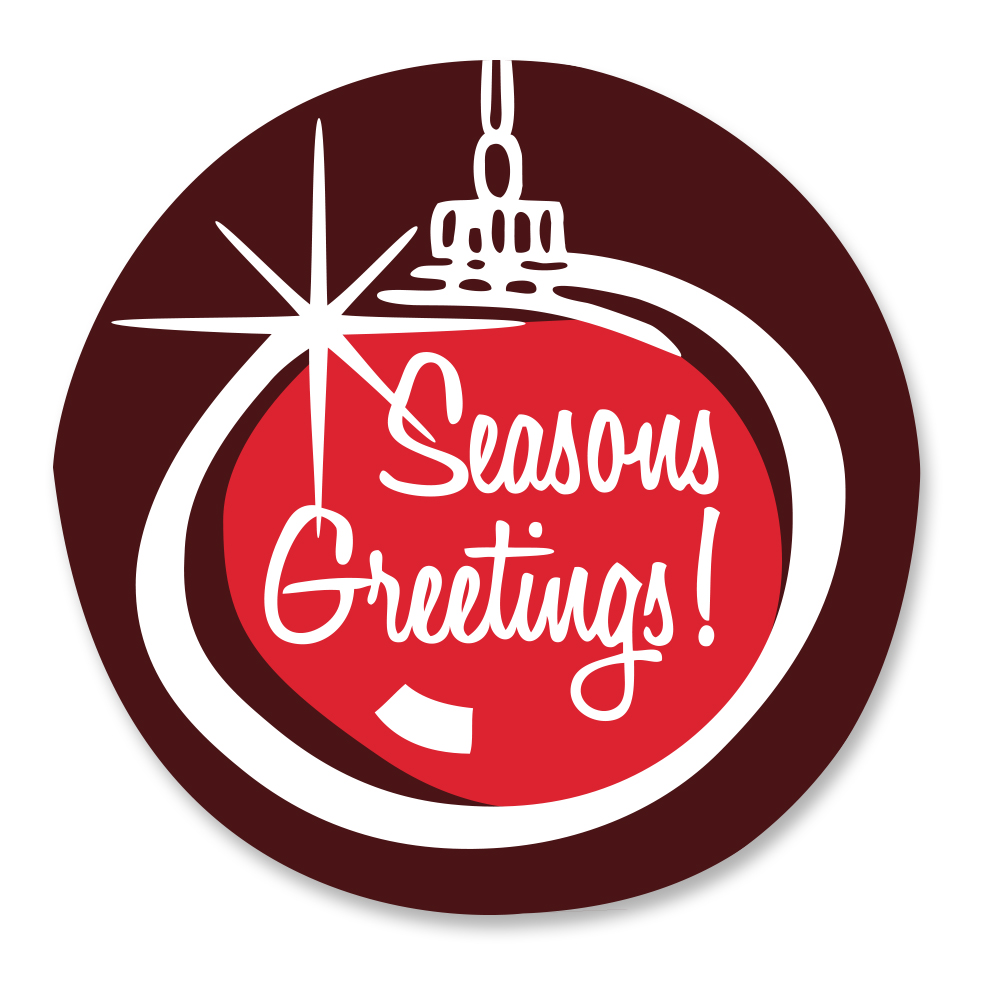Seasons greetings ornament accent varda chocolatier seasons greetings ornament accent m4hsunfo